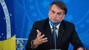 Presidente da República manteve discurso de preocupação com a economia enquanto criticou o uso de máscara, o distanciamento social e a vacina 'do Doria'