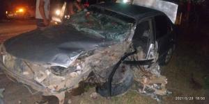 O carro de Nilton José da Conceição foi atingido por outro veículo, quando ele passava pela rodovia ES 315, conhecida como Estrada do Nativo