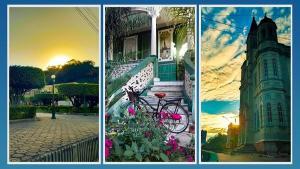 Conhecida pelas tradicionais folias de reis, a cidade guarda na arquitetura das antigas casas, na praça e na igreja um pouco da história do Brasil Colônia