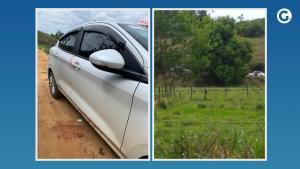 Corpo da vítima, Anoel Costa, de 74 anos, foi localizado na manhã deste sábado (16) dentro do veículo, na zona rural do município. Uma mulher é suspeita de ter cometido o crime