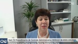 Conselheira Ivana Farina afirmou que medida adotada pelo TJES segue legislação. No ano passado, ela havia concedido uma liminar para suspender a integração