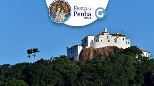 A celebração, que marca o fim do maior evento religioso do Espírito Santo, acontecerá nesta segunda-feira (12), às 17 horas, no Campinho do Convento da Penha