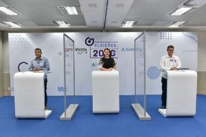 Fabio Duarte (Rede) e Sergio Vidigal (PDT) concorrem à Prefeitura da Serra no segundo turno. No debate de A Gazeta e CBN Vitória, candidatos apostaram nos ataques