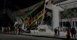 O acidente ocorreu por volta das 22h30 (00h30 pelo horário de Brasília) entre as estações de Los Olivos e Tezonco, na linha 12 do metrô