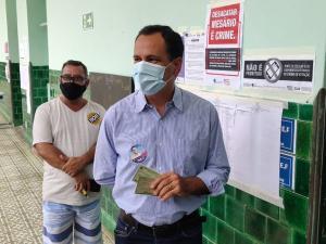 Max Filho (PSDB), Neucimar Fraga (PSD), Amarildo Lovato (PSL), Coronel Wagner (PL) e Cláudia Autista (PRTB) confirmaram os votos para vereador e prefeito, entre 10h e 12h