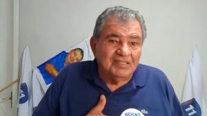 O ex-prefeito Gilson Amaro está internado desde a última quinta-feira (18) e chegou a ter 90% dos pulmões comprometidos, mas, nesta quarta (24), nível regrediu