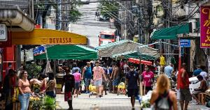 No bairro da Capital, dinâmica permanece estratificada entre a parte considerada histórica, dotada de infraestrutura, e morros do entorno, ainda desprovidos de condições urbanas adequadas