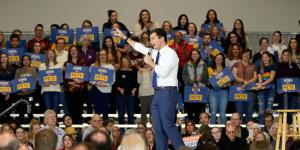 Buttigieg, Billed as Moderate, Touts Progressive Economic Plan
