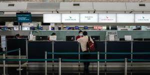 Coronavirus Epidemic Buffets Global Airlines