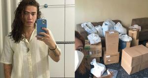 Muitos artistas e anônimos se uniram para ajudar com a compra de cilindros de oxigênio e EPIs para os hospitais de Manaus