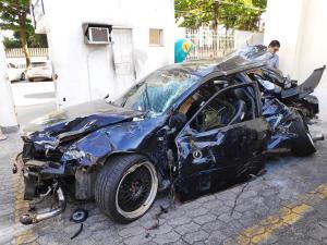 Augusto César Bento Perim Filho, 28, dirigia um Audi em alta velocidade quando perdeu o controle do veículo na noite de 29 de outubro de 2019. Dois jovens que também estavam no carro foram arremessados para fora do veículo e morreram na hora