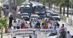 Os rodoviários e as empresas de ônibus não chegaram a um consenso durante audiência de conciliação; novo encontro foi marcado para sexta-feira (17)