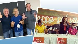 Ainda no fim de semana, PSB confirmou a candidatura do vereador Renann Bragatto à Prefeitura de Colatina e vice do Solidariedade foi lançado para compor a chapa
