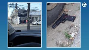 Dono do estabelecimento em Porto Canoa atirou em um dos bandidos nesta sexta-feira (13); polícia considerou que ele agiu em legítima defesa