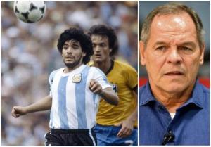Ex-goleiro e comentarista da TV Gazeta enfrentou o craque argentino em várias oportunidades. Paulo Sergio também conviveu com Maradona fora dos gramados