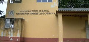 De acordo com o presidente do Sindicato dos Agentes do Sistema Penitenciário do ES, Rhuan Fernandes, o detento cortou a grade de uma cela e pulou o muro