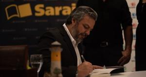 O escritor e jornalista ocupará a cadeira 9 na Academia Espírito-santense de Letras, que pertenceu ao poeta Sérgio Blank, e pretende ajudar na construção de uma nova geração de leitores