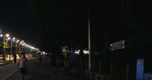Além de trecho da orla da praia, pelo menos outros 10 pontos da Capital estão no escuro, devido ao roubo de fios