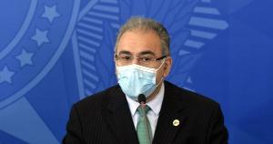Marcelo Queiroga depõe na comissão nesta quinta-feira (6), em uma sessão também marcada por atos de obstrução dos trabalhos por senadores governistas