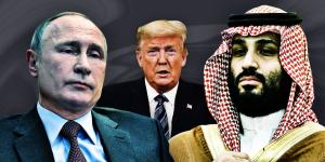 Trump, Putin, Saudi Crown Prince Scramble to Fix Oil Markets