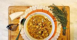 Um caldo de legumes feito para cozinhar risoto serviu de base para esse preparo quentinho, nutritivo, saudável e reconfortante