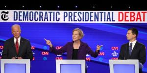 Democrats Meet for First Debate Since Impeachment Push Began