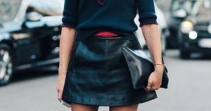 Invista no clássico xadrez, com um sapato mais pesado e meia calça, outra opção é usar o suéter do marido como vestido e acrescentar uma sobreposição
