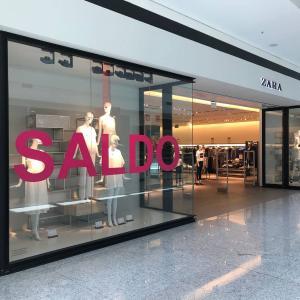 Reestruturação no Brasil representa pouco mais de 10% do total de espaços físicos que a empresa do grupo espanhol Inditex mantém abertos no país