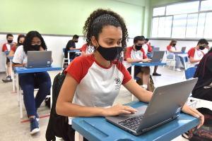 Na Grande Vitória, todos os municípios estão adotando o modelo híbrido de ensino, com alternância de aulas presenciais e on-line