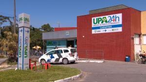 Prefeitura da Serra informou que os suspeitos aproveitaram o momento que vigilante da unidade fazia ronda para anunciar o assalto