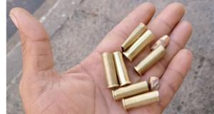 A Polícia Militar informou que recebeu diversas ligações durante a madrugada falando sobre os disparos, mas não localizou nenhum suspeito