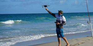 Tackle Box for the Modern Fisherman: Rod, Reel, Drone