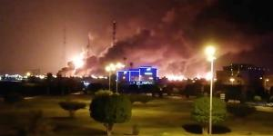 Drone Strikes Spark Fires at Saudi Oil Facilities