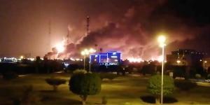 Drone Strikes Spark Fires at Saudi Oil Facilities