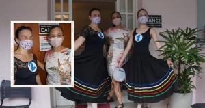 Nefrologista de 42 anos prestou prova para a Royal Academy de dança de Londres, na Inglaterra, depois de perder um tio para o coronavírus