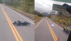 O condutor seguia no sentido Colatina. De acordo com informações da Polícia Rodoviária Federal (PRF), não houve outro veículo envolvido no acidente