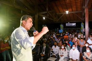 Convenção do PDT lançou Vidigal a prefeito, mas com vaga de vice indefinida. PROS deixou candidatura de Xambinho e fechou com Vandinho Leite. Gracimeri Gaviorno definiu vice. PT quer montar frente de esquerda