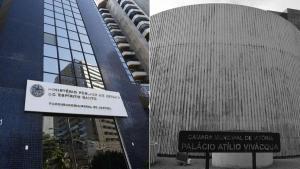 Inquérito tramita na Promotoria de Justiça Cível da Capital e tem por objetivo investigar os motivos que fizeram a proposta que reduziria de 15 para oito o número de comissionados ser arquivada