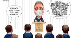 Confira a charge do Amarildo de 08/05/2021