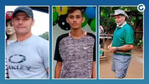 Três homens perderam a vida, dois em Vargem Alta e um em Alegre. Além desses, um trabalhador está internado na UTI em hospital de Cachoeiro
