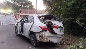O acidente aconteceu na madrugada deste domingo (9), na rodovia que liga Nova Venécia a Vila Pavão, no Noroeste do Estado