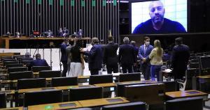 O presidente da Câmara, Arthur Lira (PP-AL), segura há mais de três meses a votação de pareceres da Casa que recomendam a suspensão do mandato do parlamentar