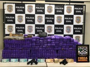 Droga foi encontrada dentro de um carro, na casa do oficial da reserva da Polícia Militar, em Vila Velha. Tenente era responsável por armazenar e realizar entregas de entorpecente para um empresário
