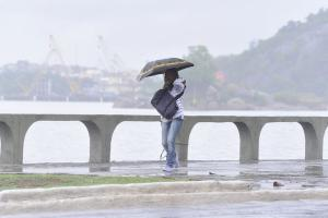 Entre os dias 1 e 16 de fevereiro, a capital capixaba já registrou mais do que o dobro da média de chuva normal para fevereiro