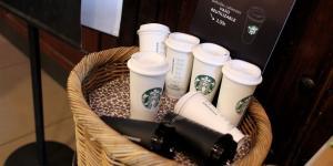 Starbucks Pledges to Slash Water Use and Waste
