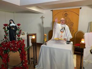 A Paróquia Santa Rita de Cássia, na Praia do Canto, completou 85 anos de fundação no dia 04 de maio; a comemoração este ano acontece de forma exclusivamente virtual
