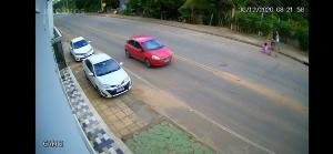 Dos três ladrões, dois foram presos e um deles continua sendo procurado pela Polícia Civil