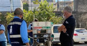 Operação conta com participação de homens da Polícias Civil, Federal, Militar, do Corpo de Bombeiros, Ipem, Procon, Sefaz, guardas municipais e membros da Agência Nacional de Petróleo