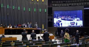 Texto-base, que foi aprovado nesta quarta-feira (02) por 398 votos a 77, previa tributação de 20%; deputados reduziram percentual para 15%