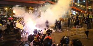 Hong Kong at a Standstill as Protesters Return to the Streets